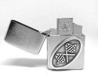 Racing Flags Pocket Lighter