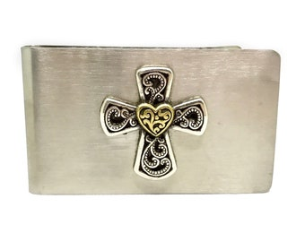 Celtic Cross Money Clip