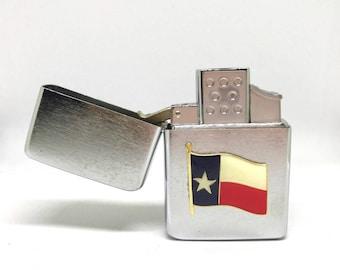 Texas Flag Pocket Lighter – Color