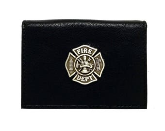 Fireman Business Card Case – Metallic