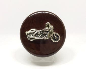 Motorcycle Wine Stopper