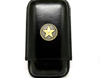 Texas Star Cigar Case