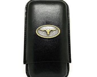 Longhorn Cigar Case