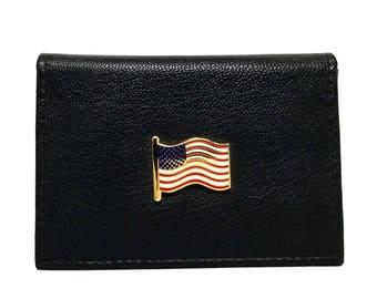 US Flag Business Card Case – Color