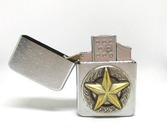Antique Texas Star Pocket Lighter