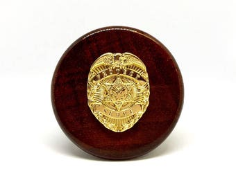 Law Enforcement Wine Stopper – Gold