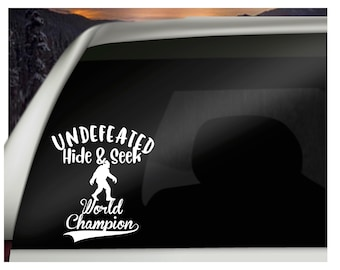 d1f7ed77 Undefeated hide and seek world champion bigfoot decal