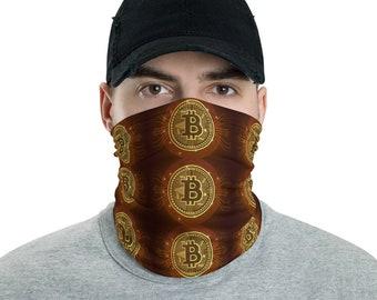 Bitcoin V5 Neck Gaiter Face Mask