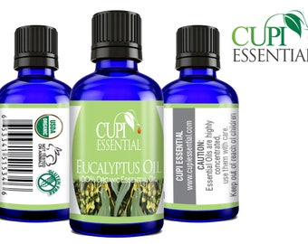 Eucalyptus Oil 100% Pure Natural & Organic