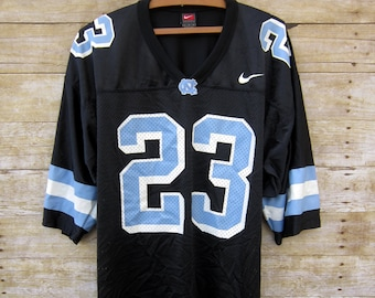 66fa09e9476853 Retro North Carolina Tar Heels Jersey -Sportcore - Nike Football Jersey  Number 23 Large Sport NCAA Football