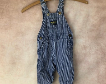 Cheap Price Kids 24 Mo Osh Kosh Denim Blue Jeans Overalls Butterfly Embroidered Farmer Baby Clothing, Shoes & Accessories