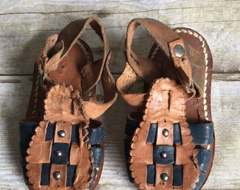 e01b5a6ba18e6 Vintage Boys' Sandals | Etsy