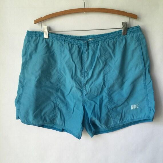 c3c3ee22d3 Vintage Nike Swim Trunks Size Large Nike Shorts Sport
