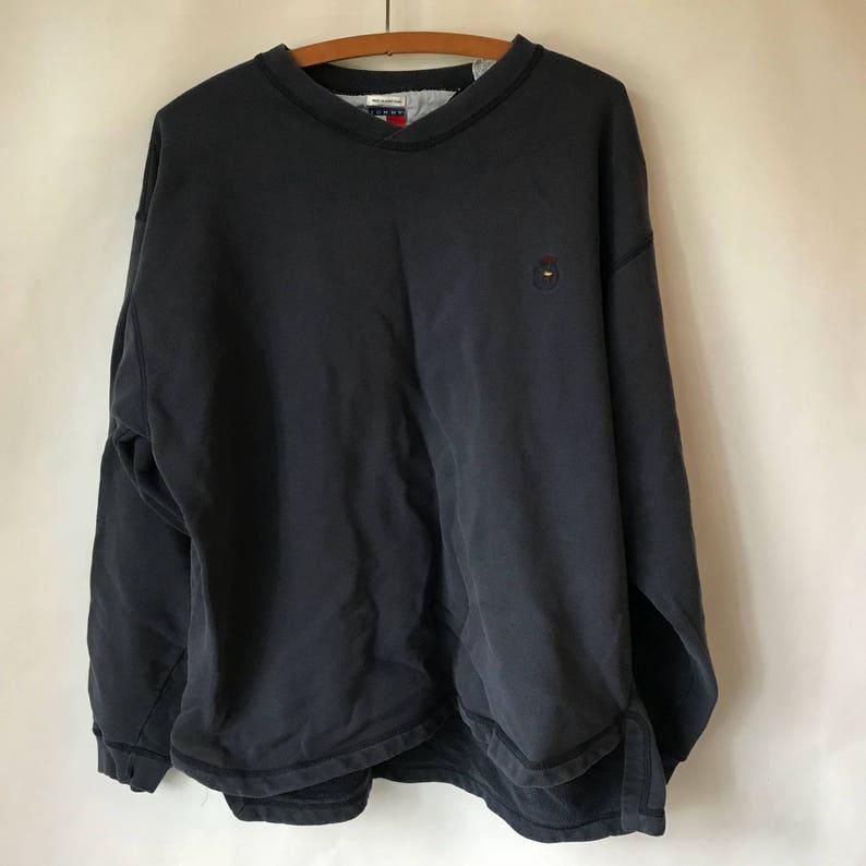 ebec80486 Vintage Tommy Hilfiger Pullover Adult XL Large Embroidered
