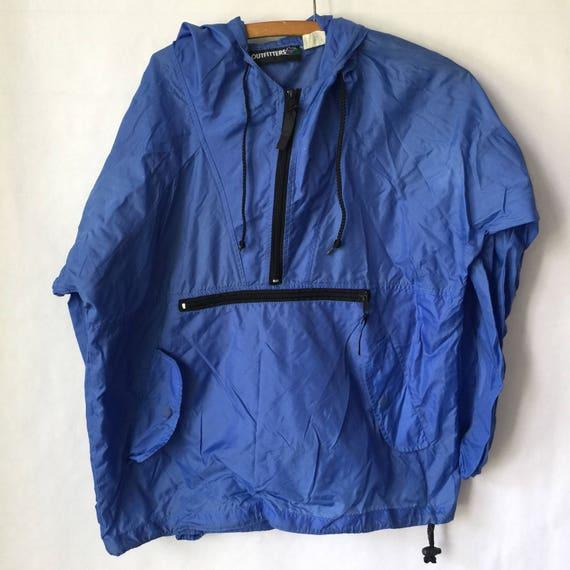 7006195759 Vintage Blue Windbreaker Jacket Mens or Womens
