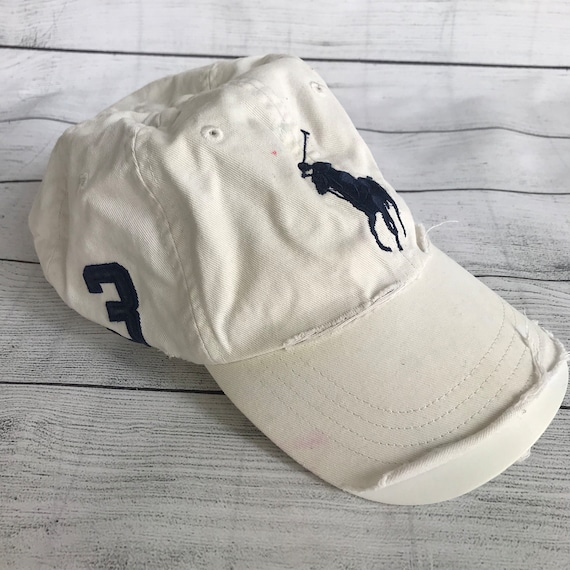 Ralph Lauren Polo Dad Hat Vintage RL Strap Back 90 s Polo  57d8f53fff1