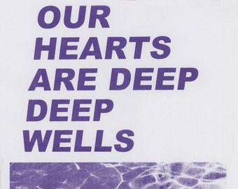Deep Deep Wells Art Print