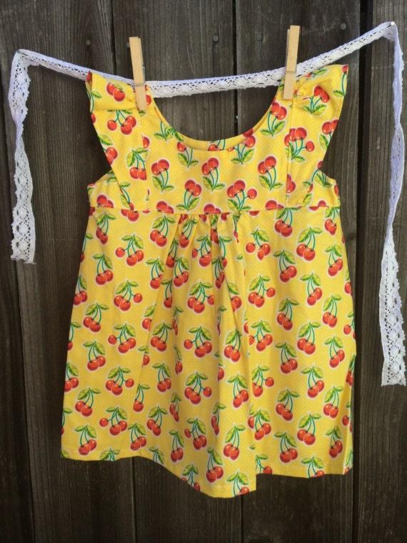 ee7ef6a3dde Farm Dress apron style country dress baby doll dress