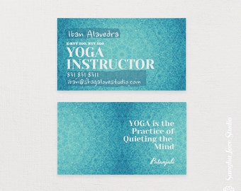 Yoga business card etsy more colors express yourself yoga business card colourmoves
