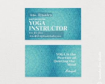 Exprimez Vous Carte De Visite Yoga Ou La Pour Le Wellness