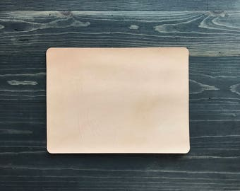 Natural Leather Mouse Pad, Minimal Mouse Pad, Minimal leather mouse pad