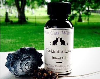 Hand Blended Ritual Oils for Anointing Altar Witchcraft Pagan Tools, Handcrafted Oil with Basil and Rose, Wiccan Oil, Bath Oil, Diffuser Oil