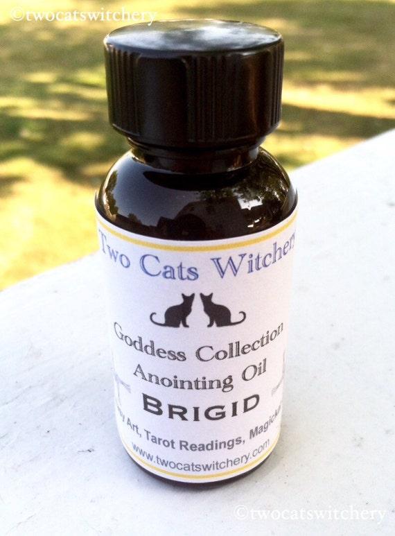 Goddess Brigid Oil | Saint Bridget Oil | Goddess Oils | Imbolc Anointing  Oils | Pagan Goddesses Ritual Oil | Celtic Goddess Oils