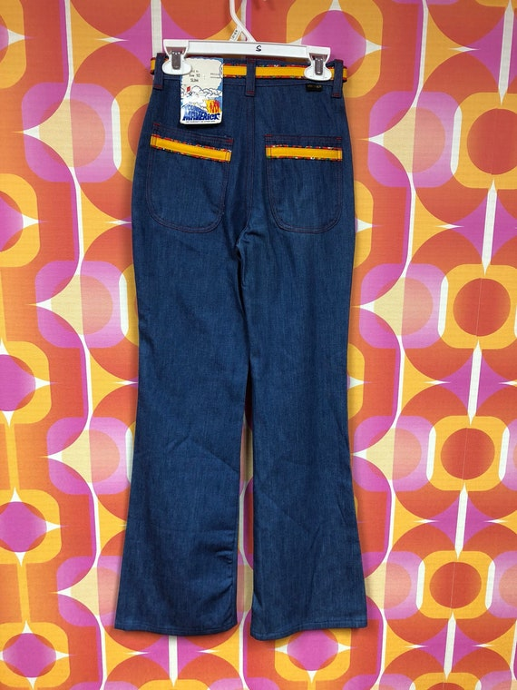 1970s Deadstock Maverick Bell Bottoms