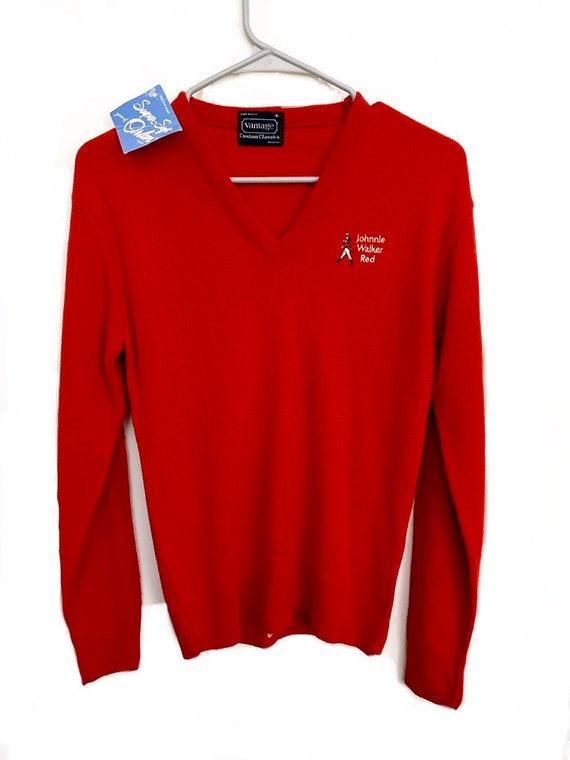 Vintage Johnnie Walker Red Label Sweater - Johnnie