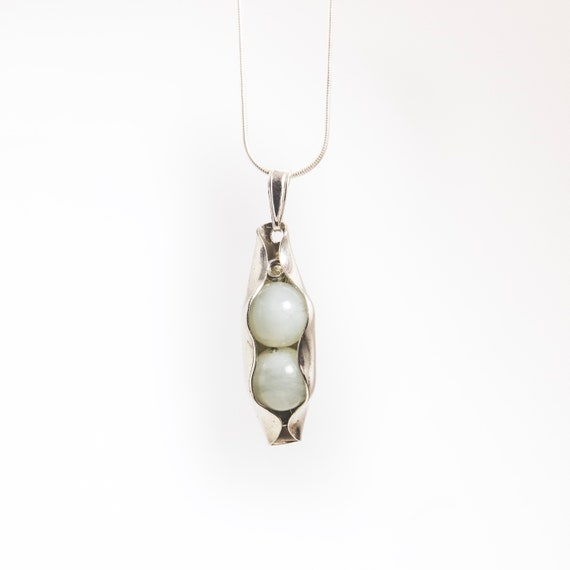 35th Wedding Anniversary Gift Jade Peas In A Pod Jewellery Etsy