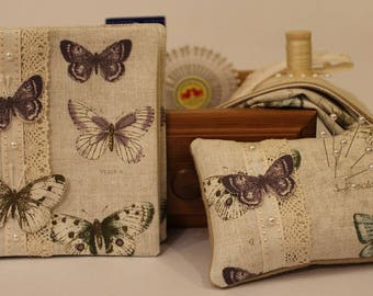 Butterfly Pincushion & Needlebook Kit