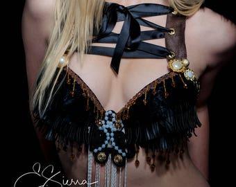 Steampunk Burning Man/Rave Bra