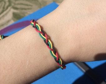 Rasta Braid Bracelet