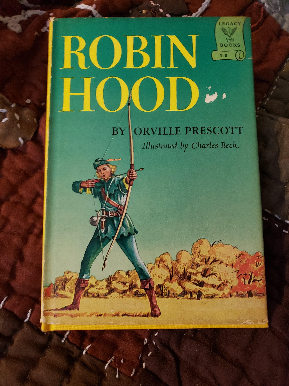 robin hoodorville prescott illustratedcharles beck