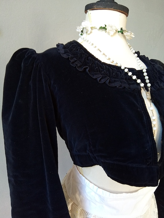 Lovely vintage bodice costume theater costume sta… - image 6