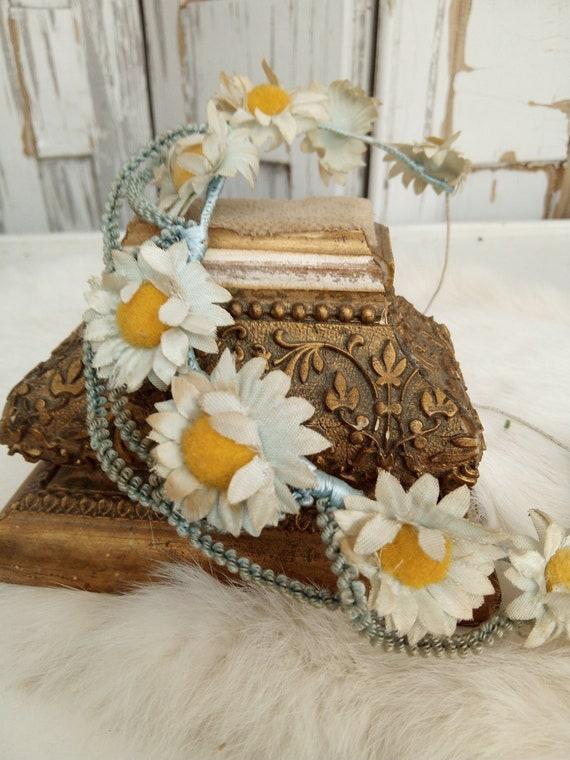 Lovely antique bridal Tiara, Diadem, Crown, myrtle