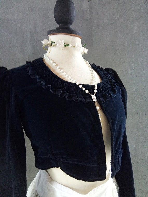Lovely vintage bodice costume theater costume sta… - image 4