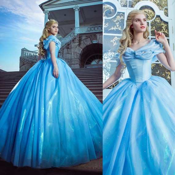 Cinderella Live Action Dress 2015 Adult Costume Disney Etsy,Wedding Pakistani Women Dress