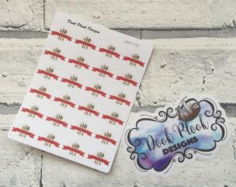 Meal planning stickers for Erin Condren, Plum Paper, Filofax, Kikki K (DPD731)