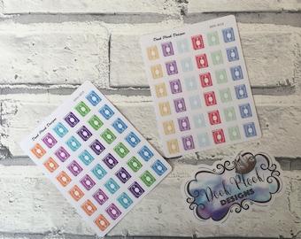 Quran stickers for Erin Condren, Plum Paper, Filofax, Kikki K (DPD809-810)