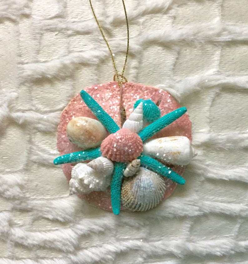 Pearly Shell Ornament