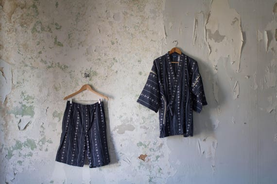 Vintage Japanese Two Piece Set - Japanese Top Shor