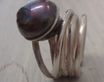 Pearls Collection Ring by Irene Carrera