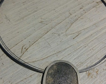 Silver Necklace, Sensitivities  Collecction  by Irene Carrera