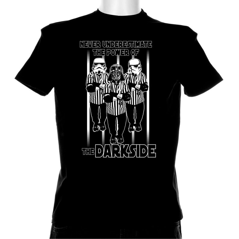 3ccd25fc Roller Derby Referees Darkside T shirt | Etsy