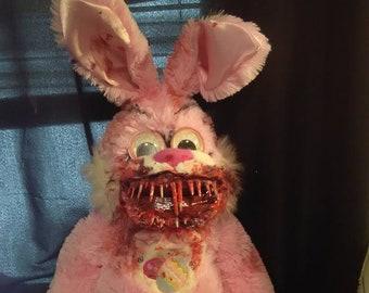 Big Pink Toothy Bunny!