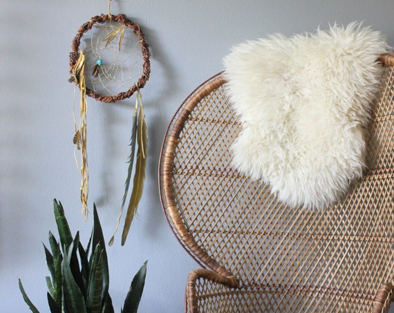 Vintage Bohemian Dreamcatcher Native American Wall Art
