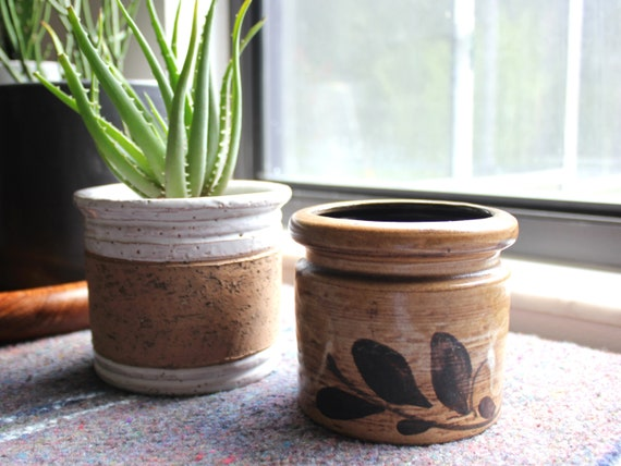 Mid Century Raymor Ceramic Planter Pots