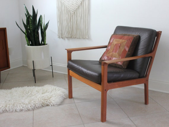 Mid Century Modern Teak Lounge Chair by Fredrik Kayser