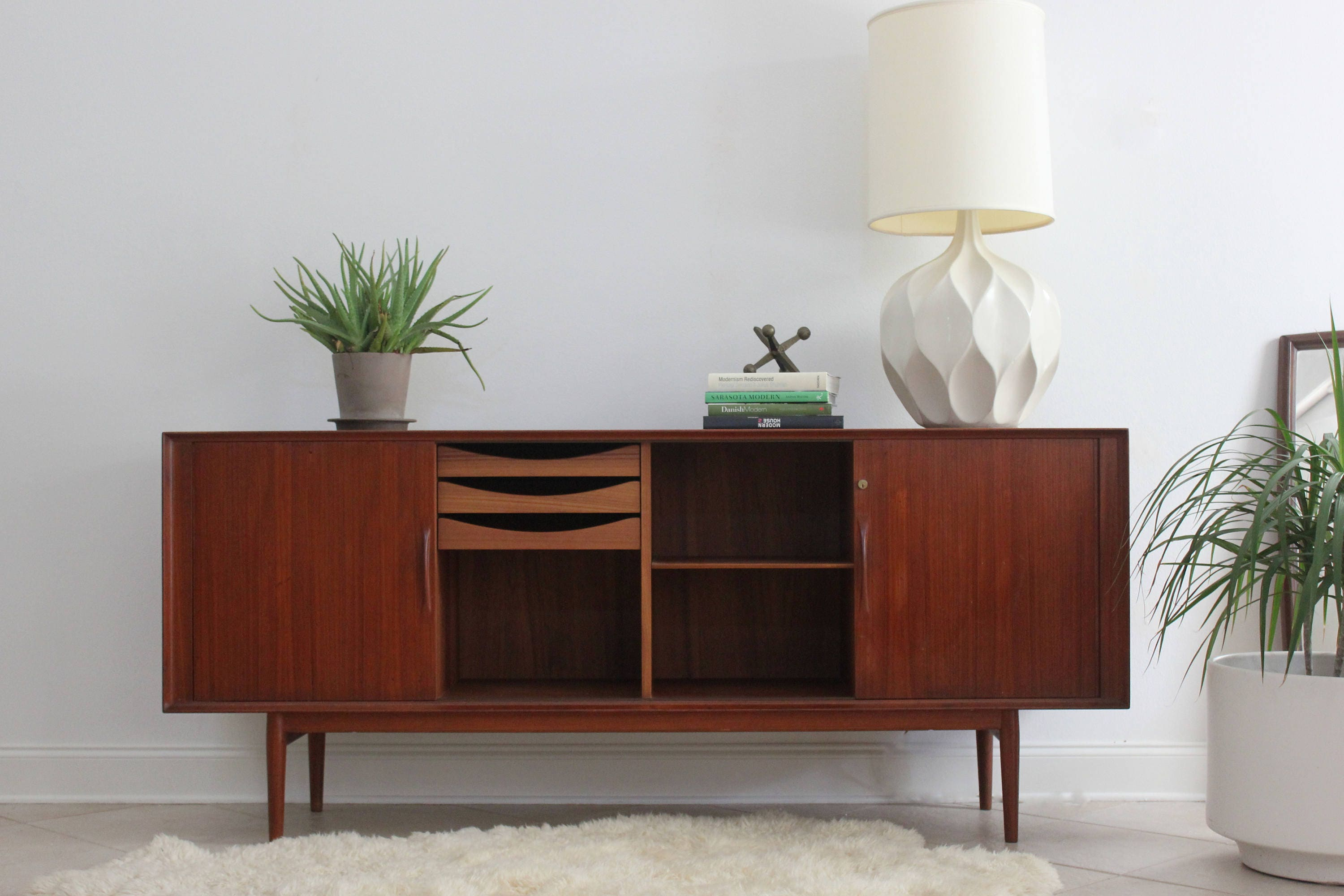Danish Modern Buffet Credenza : Mid century modern buffet furniture